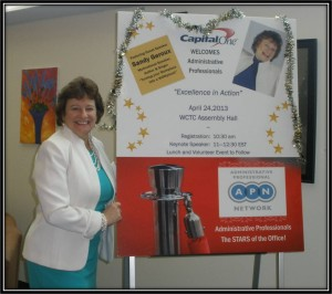 Administrative professionals day speaker