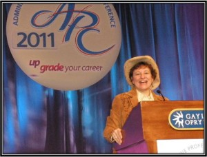 administrative professionals speaker, conference mc
